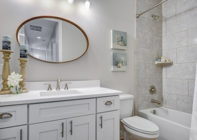 Close up Model Home bath