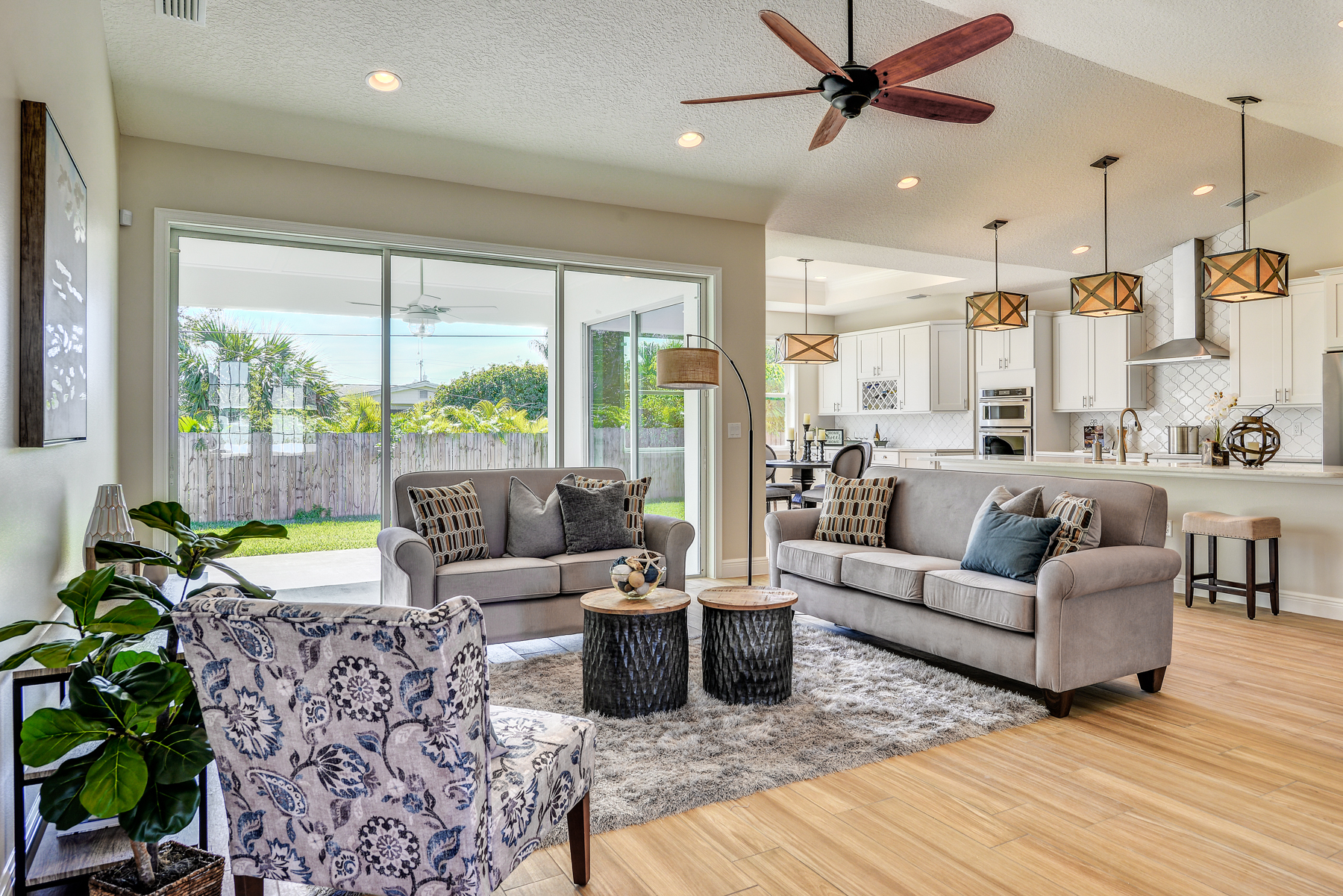 Model Home Staging Melbourne Beach